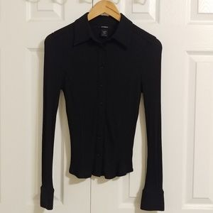 Express Slim-Fit Button Down